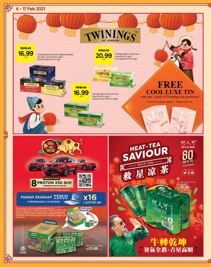 Tesco-Chinese-New-Year-Promotion-Catalogue-9-350x442 - Johor Kedah Kelantan Kuala Lumpur Melaka Negeri Sembilan Pahang Penang Perak Perlis Promotions & Freebies Putrajaya Sabah Sarawak Selangor Supermarket & Hypermarket Terengganu