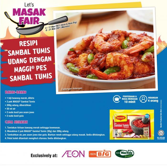 AEON-Nestle-Masak-Fair-Promotion-3-350x349 - Johor Kedah Kelantan Kuala Lumpur Melaka Negeri Sembilan Pahang Penang Perak Perlis Promotions & Freebies Putrajaya Sabah Sarawak Selangor Supermarket & Hypermarket Terengganu