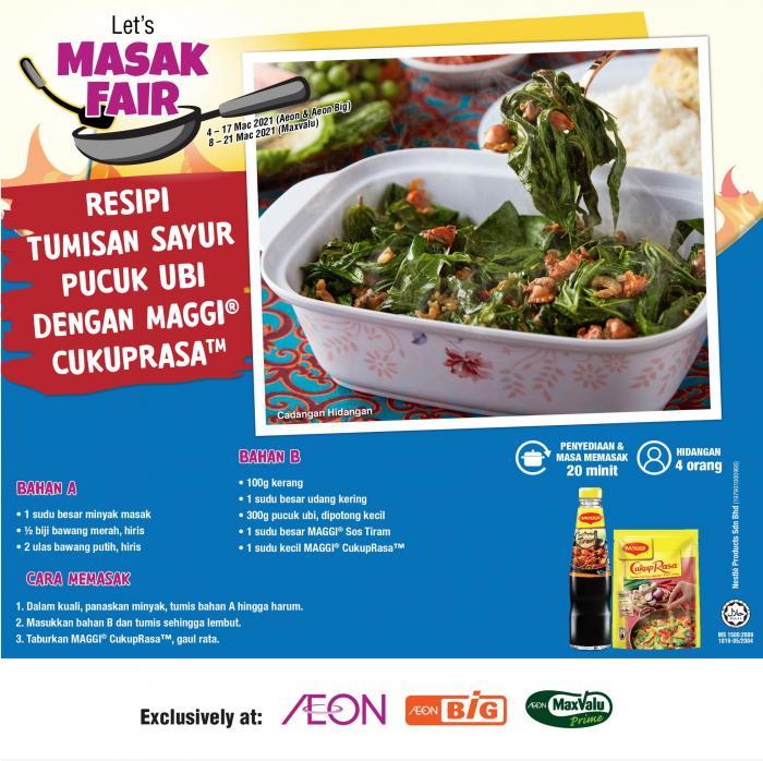 AEON-Nestle-Masak-Fair-Promotion-6-350x349 - Johor Kedah Kelantan Kuala Lumpur Melaka Negeri Sembilan Pahang Penang Perak Perlis Promotions & Freebies Putrajaya Sabah Sarawak Selangor Supermarket & Hypermarket Terengganu