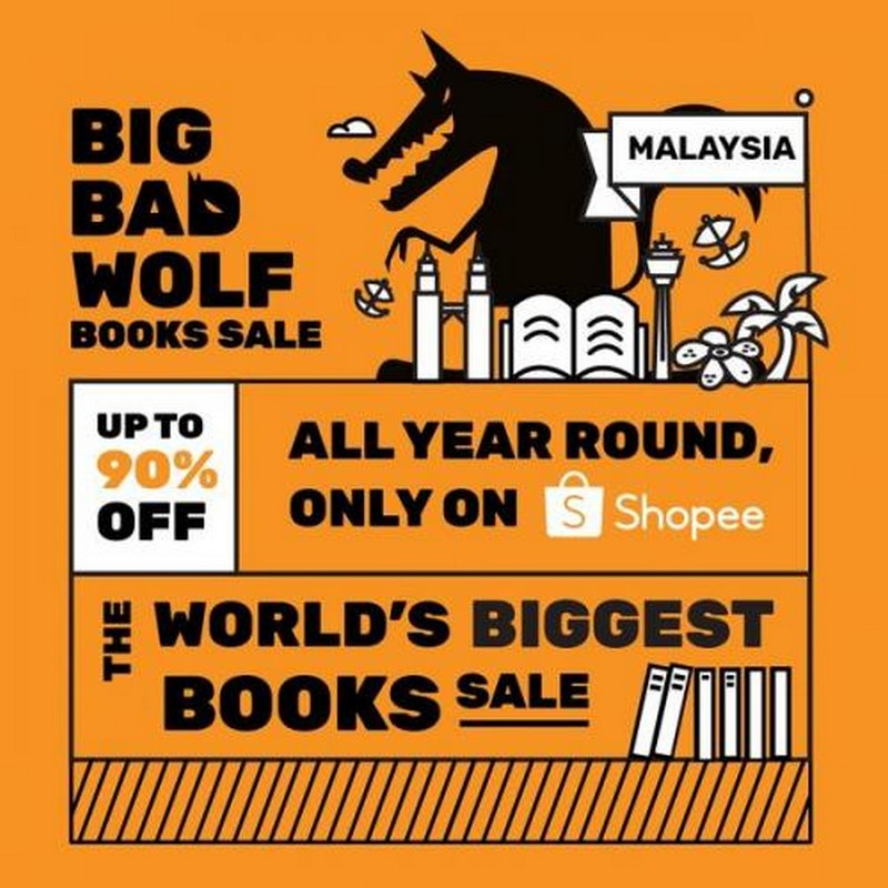Big-Bad-Wolf-Books-Sale-on-Shopee-350x350 - Books & Magazines Johor Kedah Kelantan Kuala Lumpur Malaysia Sales Melaka Negeri Sembilan Online Store Pahang Penang Perak Perlis Putrajaya Sabah Sarawak Selangor Stationery Terengganu