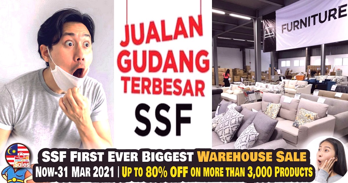 EOS-MY-SSF-2021-Warehouse-Sale - Beddings Dinnerware Furniture Home Decor Home Hardware Kitchenware Kuala Lumpur Lightings Mattress Selangor Warehouse Sale & Clearance in Malaysia