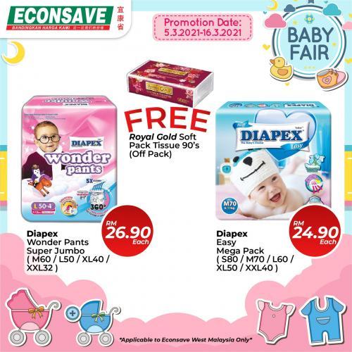 Econsave-Baby-Fair-Promotion-13-350x350 - Johor Kedah Kelantan Kuala Lumpur Melaka Negeri Sembilan Pahang Penang Perak Perlis Promotions & Freebies Putrajaya Selangor Supermarket & Hypermarket Terengganu