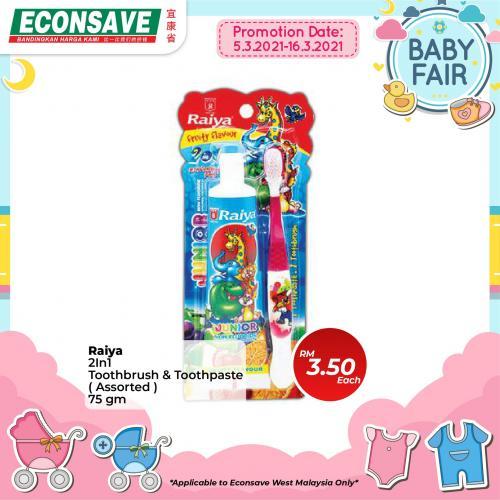 Econsave-Baby-Fair-Promotion-17-350x350 - Johor Kedah Kelantan Kuala Lumpur Melaka Negeri Sembilan Pahang Penang Perak Perlis Promotions & Freebies Putrajaya Selangor Supermarket & Hypermarket Terengganu