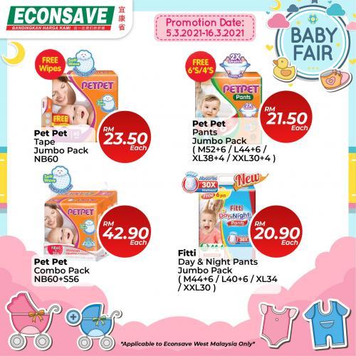 Econsave-Baby-Fair-Promotion-21-350x350 - Johor Kedah Kelantan Kuala Lumpur Melaka Negeri Sembilan Pahang Penang Perak Perlis Promotions & Freebies Putrajaya Selangor Supermarket & Hypermarket Terengganu