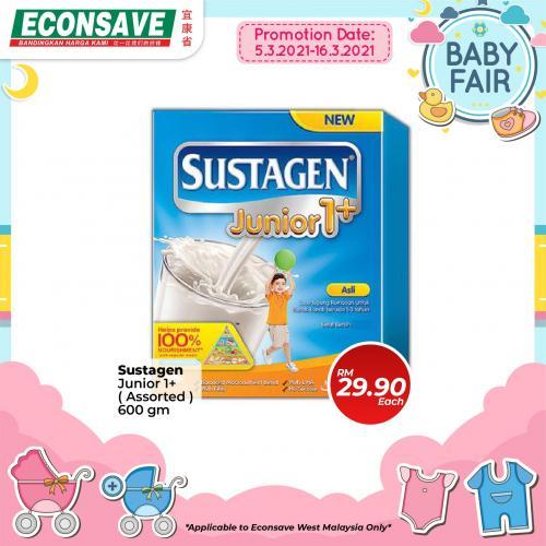 Econsave-Baby-Fair-Promotion-3-350x350 - Johor Kedah Kelantan Kuala Lumpur Melaka Negeri Sembilan Pahang Penang Perak Perlis Promotions & Freebies Putrajaya Selangor Supermarket & Hypermarket Terengganu