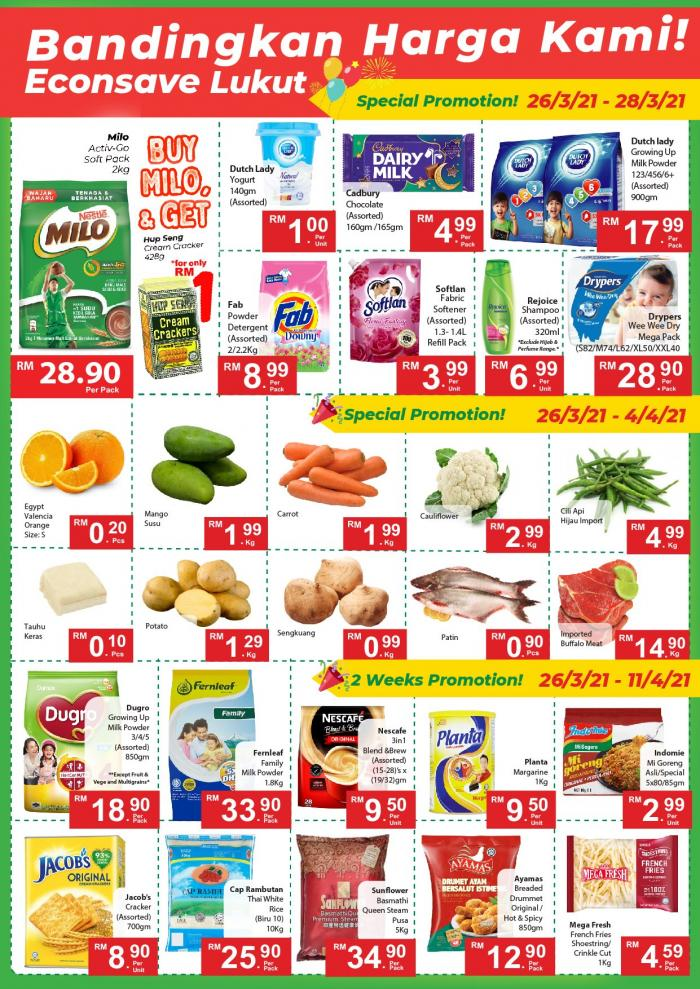 Econsave-Opening-Promotion-at-Lukut-1-350x495 - Negeri Sembilan Promotions & Freebies Supermarket & Hypermarket