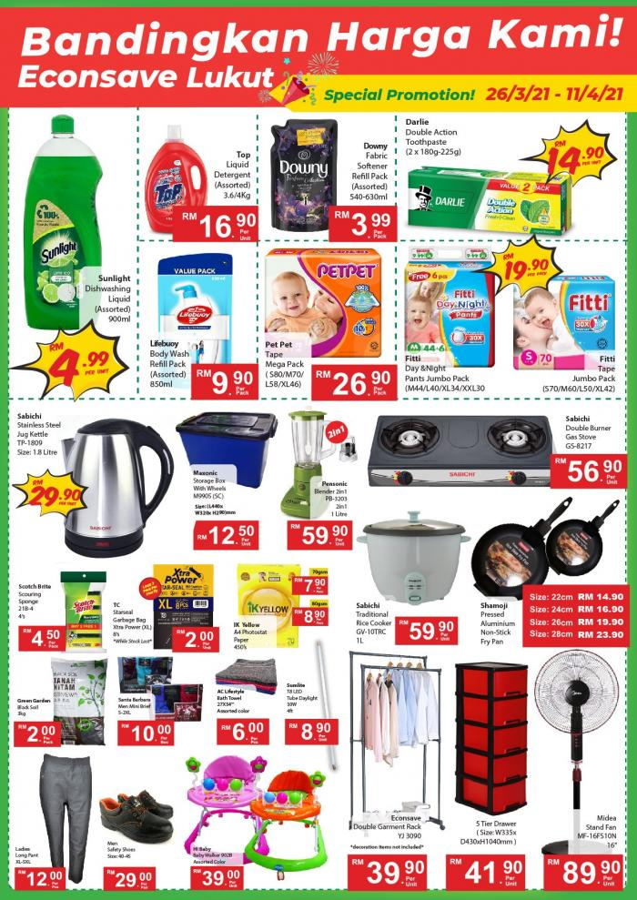 Econsave-Opening-Promotion-at-Lukut-2-350x495 - Negeri Sembilan Promotions & Freebies Supermarket & Hypermarket