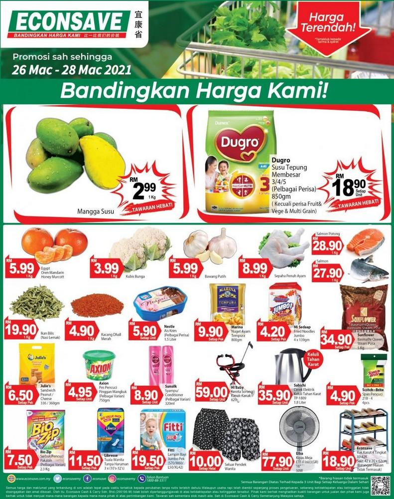 Econsave-Weekend-Promotion-350x442 - Johor Kedah Kelantan Kuala Lumpur Melaka Negeri Sembilan Pahang Penang Perak Perlis Promotions & Freebies Putrajaya Selangor Supermarket & Hypermarket Terengganu