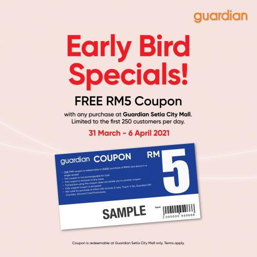 Guardian-Opening-Promotion-at-Setia-City-Mall-1-350x350 - Beauty & Health Health Supplements Personal Care Promotions & Freebies Selangor