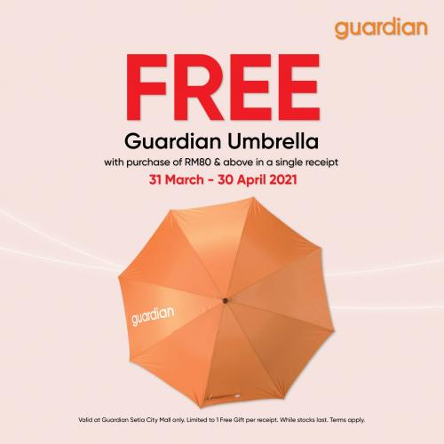 Guardian-Opening-Promotion-at-Setia-City-Mall-3-350x350 - Beauty & Health Health Supplements Personal Care Promotions & Freebies Selangor