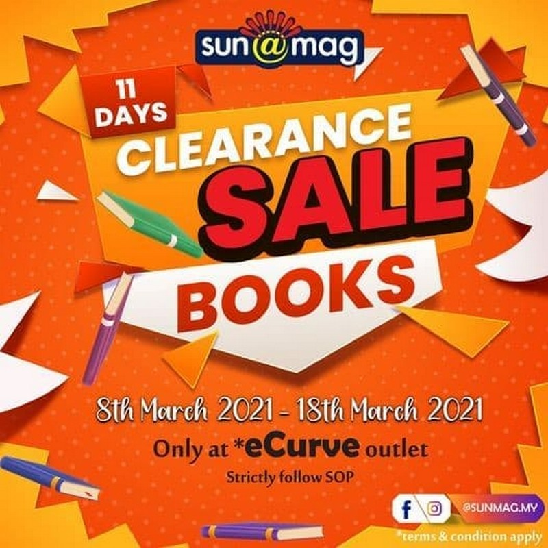 Sunmag-Books-Clearance-Sale-at-eCurve-350x350 - Books & Magazines Selangor Stationery Warehouse Sale & Clearance in Malaysia