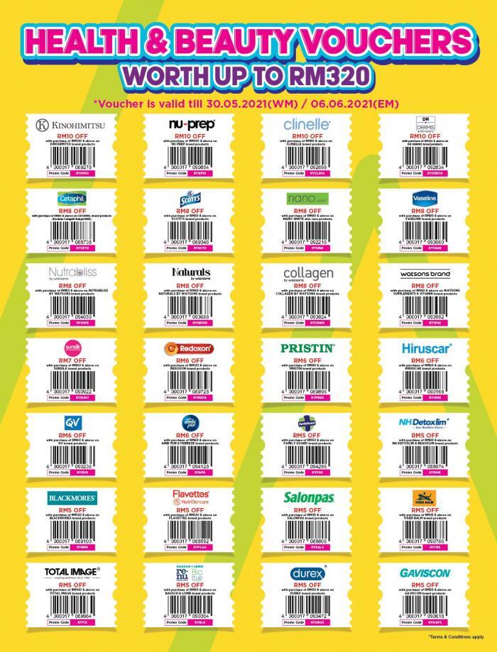 Watsons-Promotion-Catalogue-11-350x460 - Beauty & Health Cosmetics Fragrances Hair Care Health Supplements Johor Kedah Kelantan Kuala Lumpur Melaka Negeri Sembilan Online Store Pahang Penang Perak Perlis Personal Care Promotions & Freebies Putrajaya Sabah Sarawak Selangor Terengganu