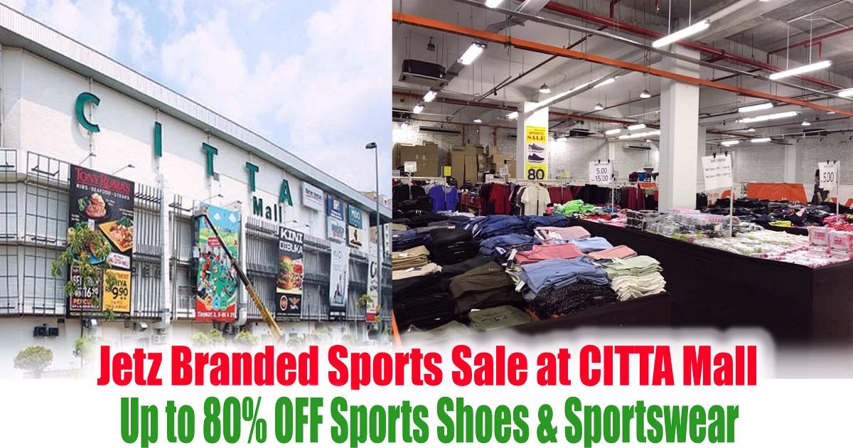 Citta-Mall-Sports-Warehouse-Sale-2021-Malaysia-Jualan-Gudang-Mega-Offer - Apparels Fashion Accessories Fashion Lifestyle & Department Store Selangor Sportswear Warehouse Sale & Clearance in Malaysia