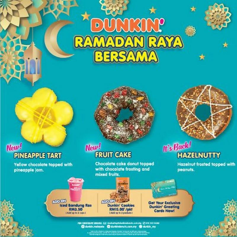 Dunkin-Donuts-Ramadan-Raya-Combo-Deals-350x350 - Beverages Food , Restaurant & Pub Johor Kedah Kelantan Kuala Lumpur Melaka Negeri Sembilan Pahang Penang Perak Perlis Promotions & Freebies Putrajaya Sabah Sarawak Selangor Terengganu