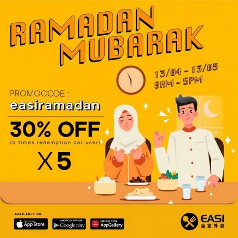 EASI-Ramadan-Promotion-350x350 - Beverages Food , Restaurant & Pub Johor Kedah Kelantan Kuala Lumpur Melaka Negeri Sembilan Online Store Pahang Penang Perak Perlis Promotions & Freebies Putrajaya Sabah Sarawak Selangor Terengganu