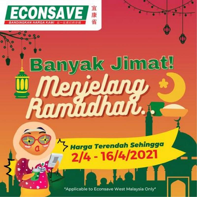 Econsave-Ramadan-Banyak-Jimat-Promotion-350x350 - Johor Kedah Kelantan Kuala Lumpur Melaka Negeri Sembilan Pahang Penang Perak Perlis Promotions & Freebies Putrajaya Selangor Supermarket & Hypermarket Terengganu