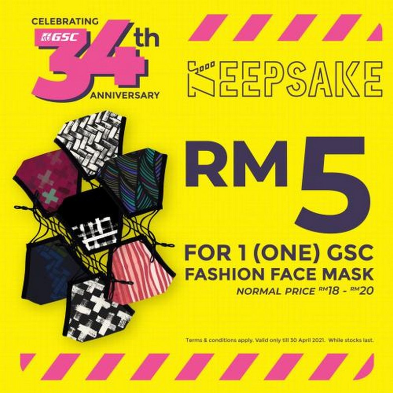 GSC-Online-GSC-Fashion-Face-Mask-at-RM5-Promotion-350x350 - Johor Kedah Kelantan Kuala Lumpur Melaka Negeri Sembilan Others Pahang Penang Perak Perlis Promotions & Freebies Putrajaya Sabah Sarawak Selangor Terengganu