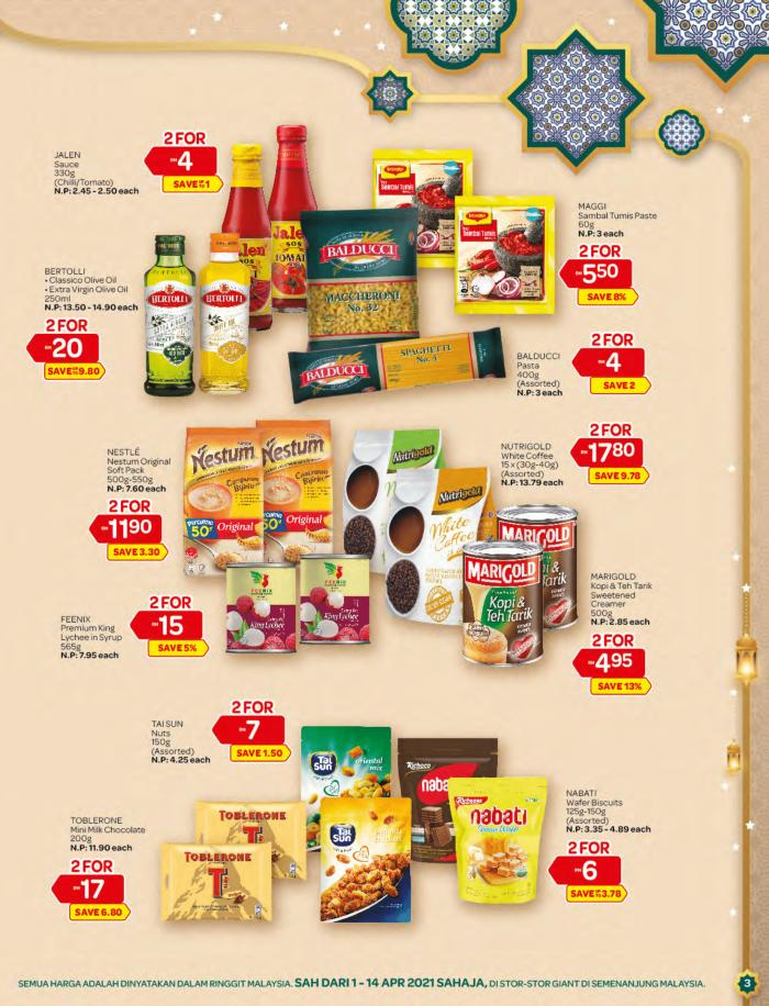 Giant-Ramadan-Promotion-Catalogue-2-350x458 - Johor Kedah Kelantan Kuala Lumpur Melaka Negeri Sembilan Pahang Penang Perak Perlis Promotions & Freebies Putrajaya Sabah Sarawak Selangor Supermarket & Hypermarket Terengganu