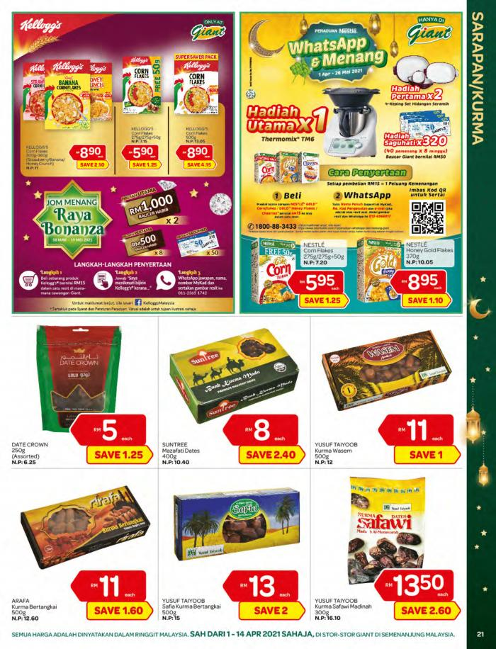 Giant-Ramadan-Promotion-Catalogue-20-350x458 - Johor Kedah Kelantan Kuala Lumpur Melaka Negeri Sembilan Pahang Penang Perak Perlis Promotions & Freebies Putrajaya Sabah Sarawak Selangor Supermarket & Hypermarket Terengganu