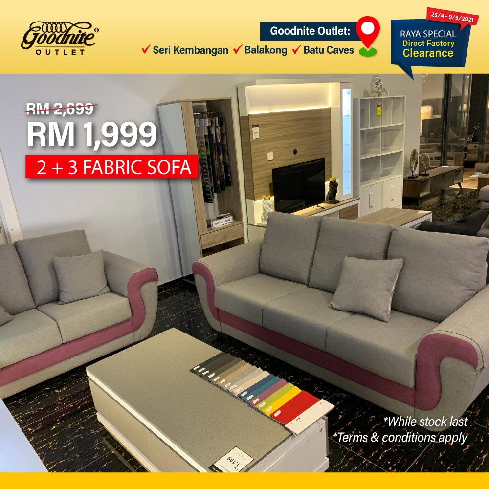 Goodnite-Raya-Clearance-Sale-5-350x350 - Beddings Furniture Home & Garden & Tools Home Decor Selangor Warehouse Sale & Clearance in Malaysia