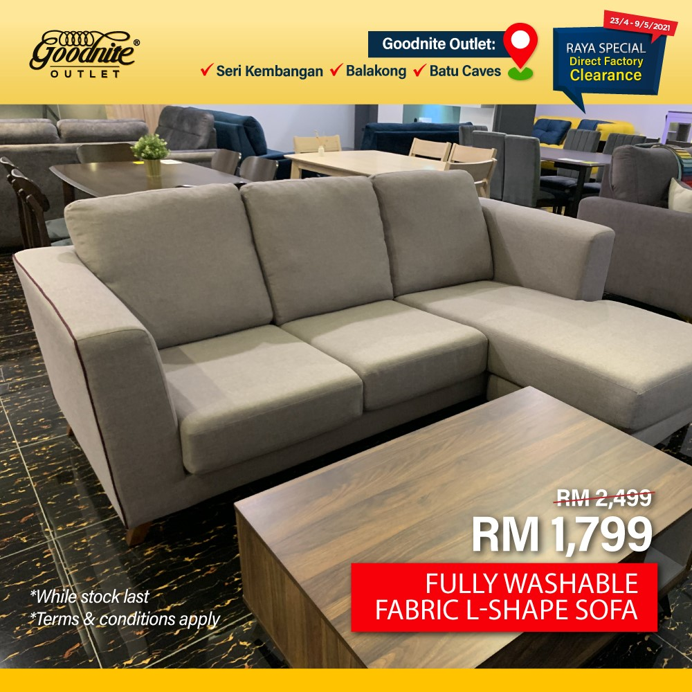 Goodnite-Raya-Clearance-Sale-7-350x350 - Beddings Furniture Home & Garden & Tools Home Decor Selangor Warehouse Sale & Clearance in Malaysia