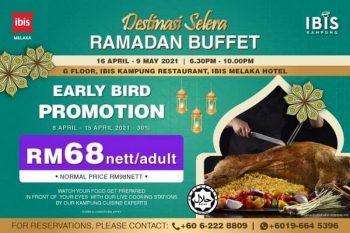 Ibis-Hotel-Ramadhan-Buffet-Promo-350x233 - Hotels Melaka Promotions & Freebies Sales Happening Now In Malaysia Sports,Leisure & Travel This Week Sales In Malaysia