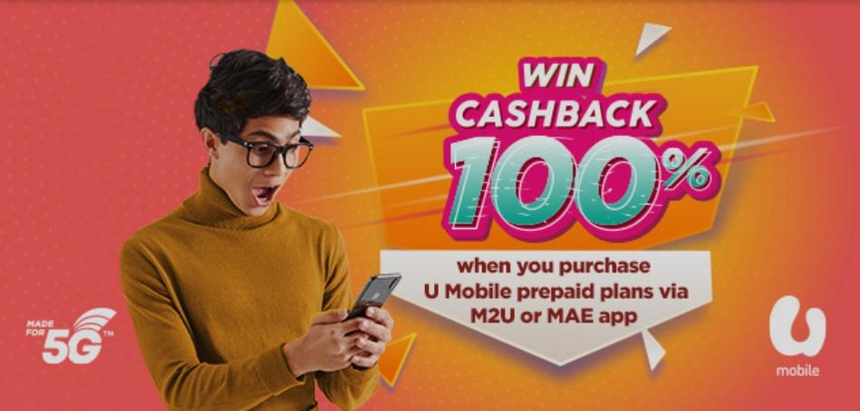 Maybank-U-Mobile-100-Cashback-Contest-350x167 - Bank & Finance Events & Fairs Johor Kedah Kelantan Kuala Lumpur Maybank Melaka Negeri Sembilan Online Store Others Pahang Penang Perak Perlis Putrajaya Sabah Sarawak Selangor Terengganu