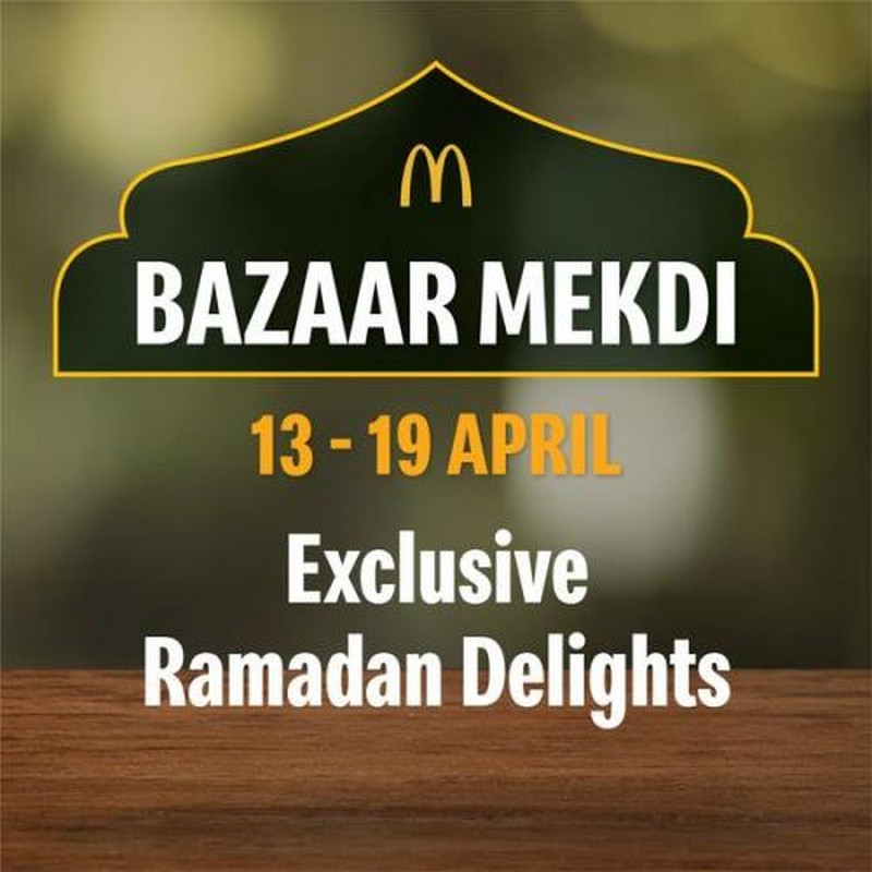 McDonalds-Ramadan-Bazaar-Mekdi-Promotion-350x350 - Beverages Food , Restaurant & Pub Johor Kedah Kelantan Kuala Lumpur Melaka Negeri Sembilan Pahang Penang Perak Perlis Promotions & Freebies Putrajaya Sabah Sarawak Selangor Terengganu