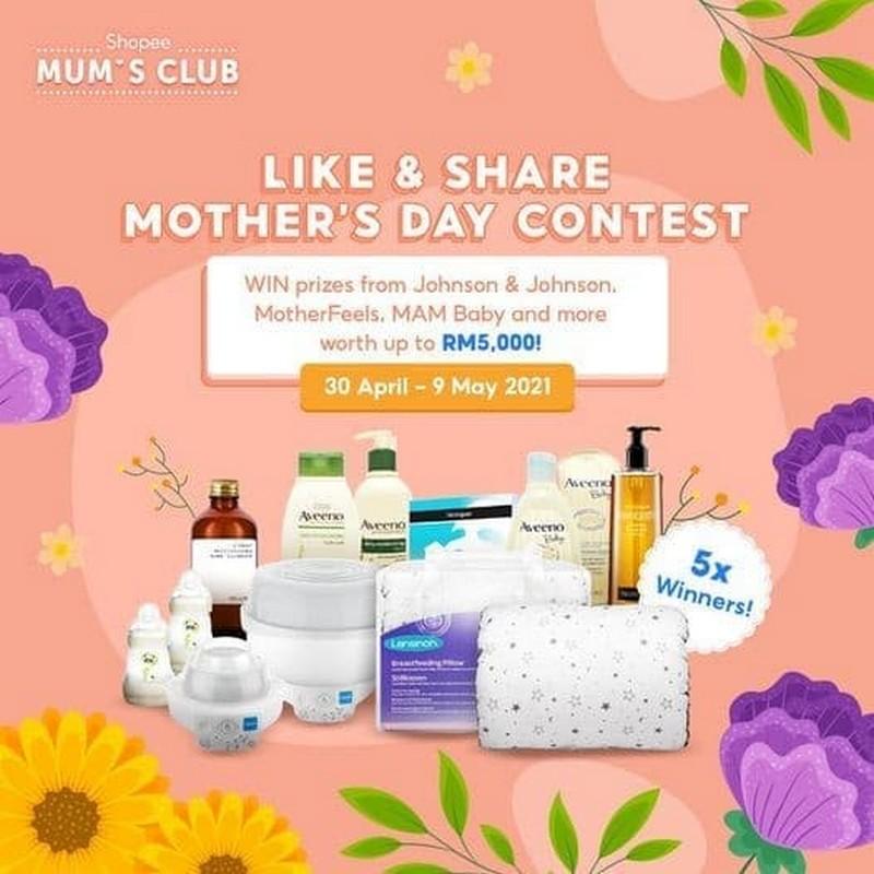 Mums-Club-Mothers-Day-Contest-on-Shopee-350x350 - Events & Fairs Johor Kedah Kelantan Kuala Lumpur Melaka Negeri Sembilan Online Store Others Pahang Penang Perak Perlis Putrajaya Sabah Sarawak Selangor Terengganu