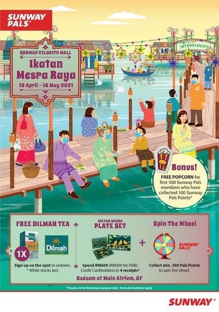 Sunway-Pals-Ikatan-Mesra-Raya-350x498 - Kuala Lumpur Others Promotions & Freebies Sales Happening Now In Malaysia Selangor This Week Sales In Malaysia