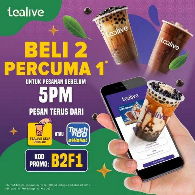 Tealive-Ramadan-Promotion-1-350x350 - Beverages Food , Restaurant & Pub Johor Kedah Kelantan Kuala Lumpur Melaka Negeri Sembilan Online Store Pahang Penang Perak Perlis Promotions & Freebies Putrajaya Sabah Sarawak Selangor Terengganu