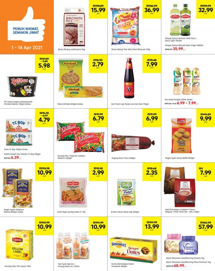 Tesco-Weekly-Promotion-Catalogue-1-350x442 - Johor Kedah Kelantan Kuala Lumpur Melaka Negeri Sembilan Pahang Penang Perak Perlis Promotions & Freebies Putrajaya Sabah Sarawak Selangor Supermarket & Hypermarket Terengganu
