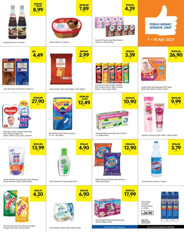 Tesco-Weekly-Promotion-Catalogue-2-350x442 - Johor Kedah Kelantan Kuala Lumpur Melaka Negeri Sembilan Pahang Penang Perak Perlis Promotions & Freebies Putrajaya Sabah Sarawak Selangor Supermarket & Hypermarket Terengganu
