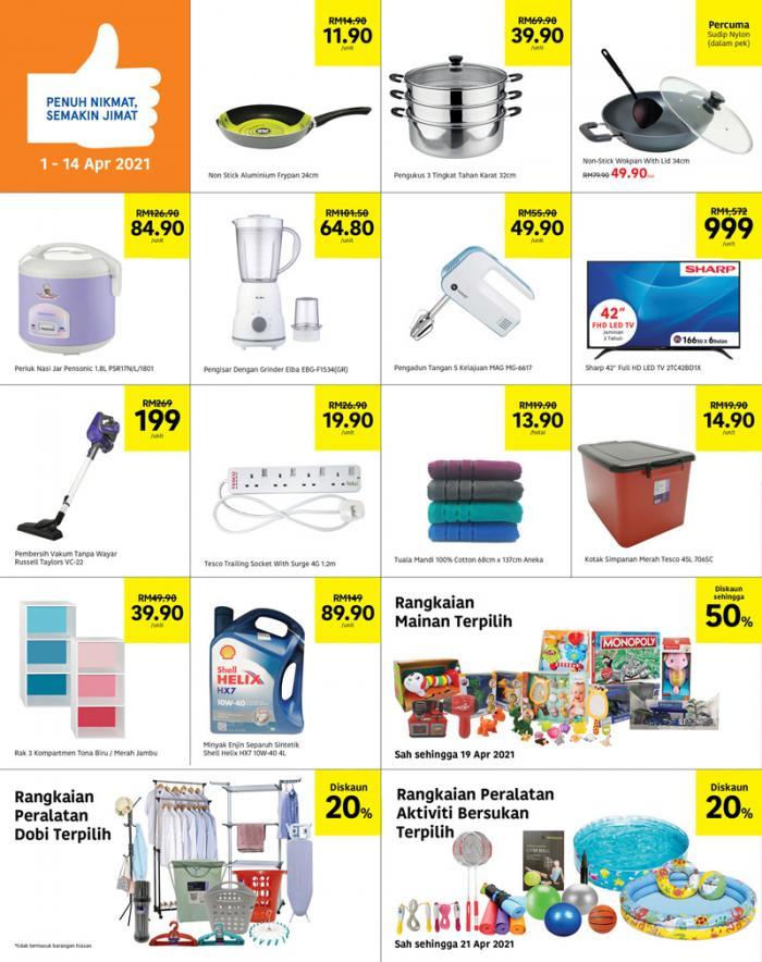 Tesco-Weekly-Promotion-Catalogue-9-350x442 - Johor Kedah Kelantan Kuala Lumpur Melaka Negeri Sembilan Pahang Penang Perak Perlis Promotions & Freebies Putrajaya Sabah Sarawak Selangor Supermarket & Hypermarket Terengganu
