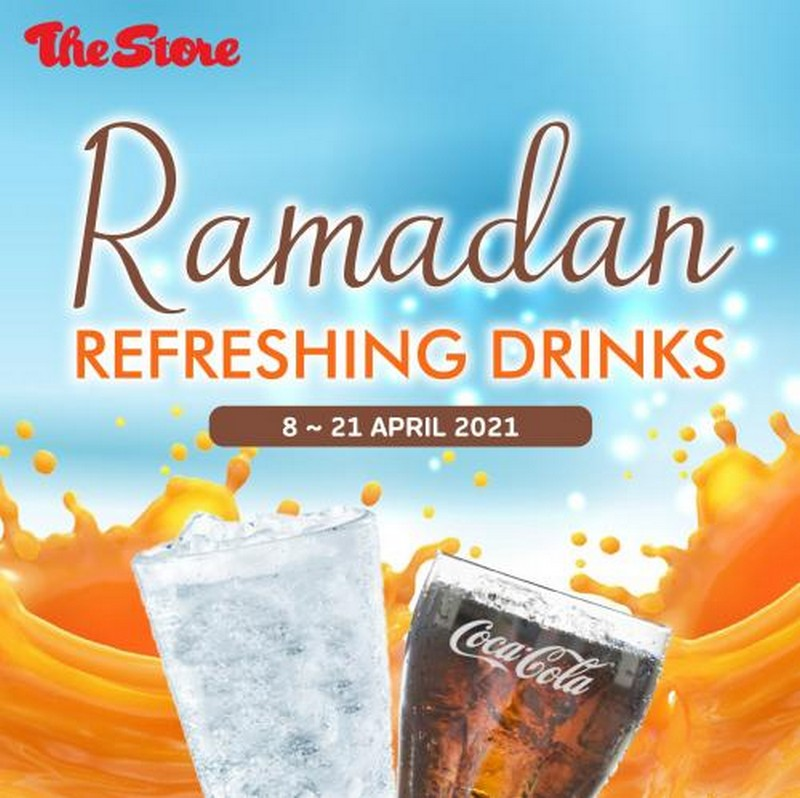 The-Store-Ramadan-Refreshing-Drinks-Promotion-350x349 - Johor Kedah Kelantan Kuala Lumpur Melaka Negeri Sembilan Pahang Penang Perak Perlis Promotions & Freebies Putrajaya Sabah Sarawak Selangor Supermarket & Hypermarket Terengganu