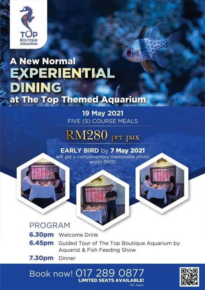 Top-View-Restaurant-Lounge-Special-Deal-The-Top-Themed-Aquarium-Dining-350x494 - Beverages Events & Fairs Food , Restaurant & Pub Penang This Week Sales In Malaysia Upcoming Sales In Malaysia