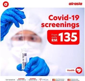 Airasia-Covid-19-Screening-Test-Promo-350x336 - Johor Kedah Kelantan Kuala Lumpur Melaka Negeri Sembilan Online Store Others Pahang Penang Perak Perlis Promotions & Freebies Putrajaya Sabah Sarawak Selangor Terengganu