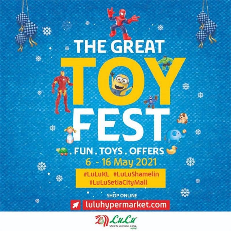 LuLu-Hypermarket-The-Great-Toy-Fest-350x350 - Baby & Kids & Toys Kuala Lumpur Promotions & Freebies Selangor Supermarket & Hypermarket Toys