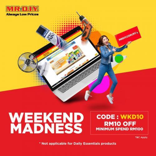 MR-DIY-Online-Weekend-Madness-Promotion-1-1-350x350 - Johor Kedah Kelantan Kuala Lumpur Melaka Negeri Sembilan Online Store Others Pahang Penang Perak Perlis Promotions & Freebies Putrajaya Sabah Sarawak Selangor Terengganu