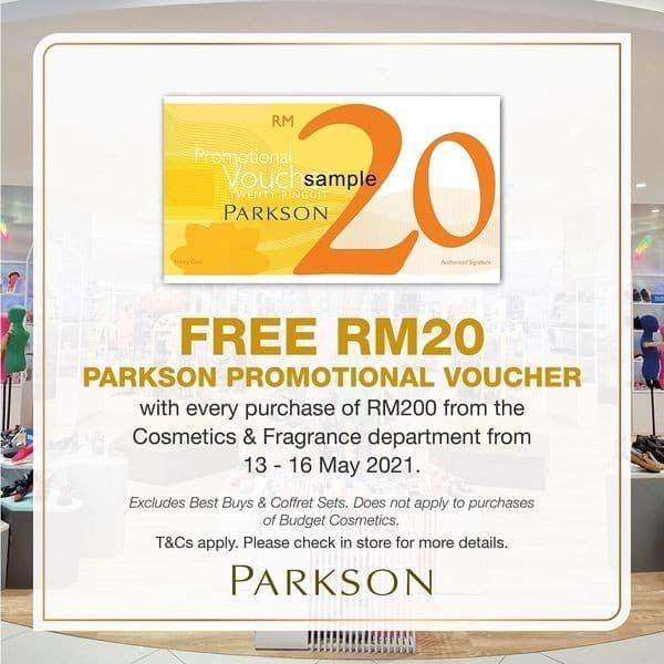 Parkson-Vouchers-Promo-at-Mahkota-Parade-350x350 - Melaka Promotions & Freebies Supermarket & Hypermarket