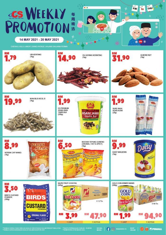 Pasaraya-CS-Weekly-Promotion-3-1-350x495 - Perak Promotions & Freebies Selangor Supermarket & Hypermarket