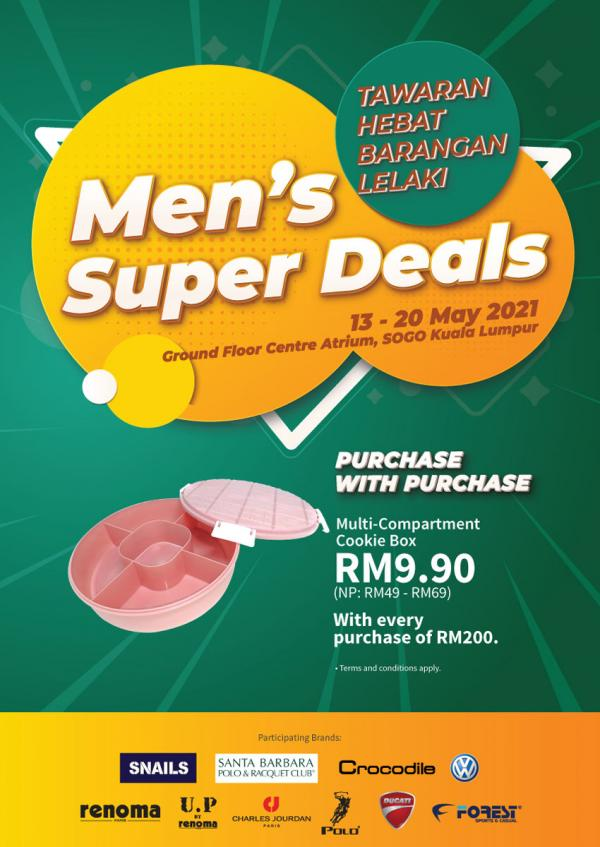 SOGO-Mens-Super-Deals-Sale-350x494 - Apparels Fashion Accessories Fashion Lifestyle & Department Store Kuala Lumpur Malaysia Sales Selangor Supermarket & Hypermarket