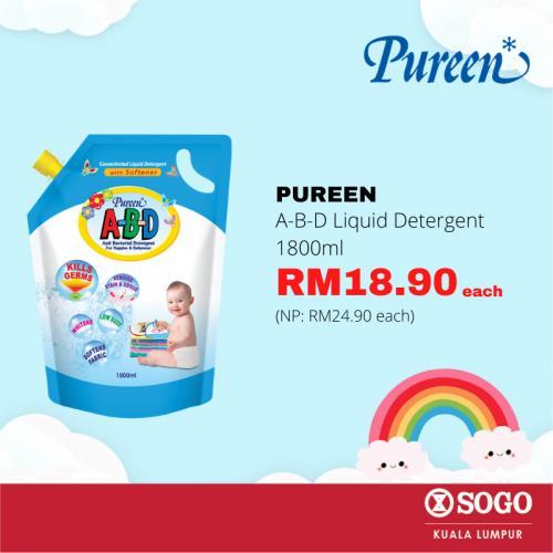 SOGO-Pureen-Promotion-1-350x350 - Baby & Kids & Toys Babycare Kuala Lumpur Promotions & Freebies Selangor Supermarket & Hypermarket