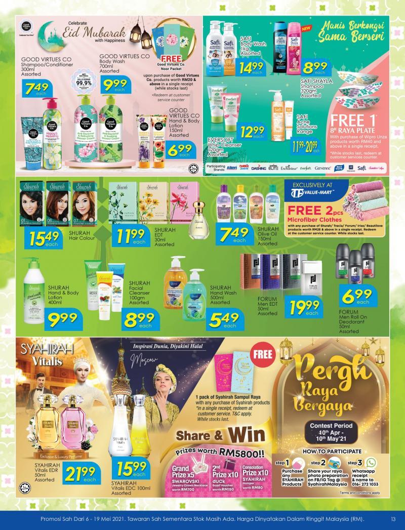 TF-Value-Mart-Hari-Raya-Promotion-Catalogue-12-350x458 - Johor Kedah Kelantan Kuala Lumpur Melaka Negeri Sembilan Pahang Penang Perak Perlis Promotions & Freebies Putrajaya Sabah Sarawak Selangor Supermarket & Hypermarket Terengganu