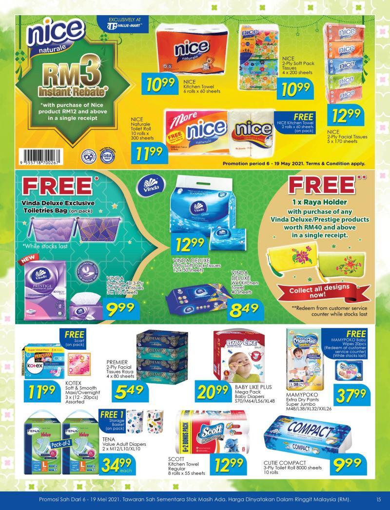 TF-Value-Mart-Hari-Raya-Promotion-Catalogue-14-350x458 - Johor Kedah Kelantan Kuala Lumpur Melaka Negeri Sembilan Pahang Penang Perak Perlis Promotions & Freebies Putrajaya Sabah Sarawak Selangor Supermarket & Hypermarket Terengganu