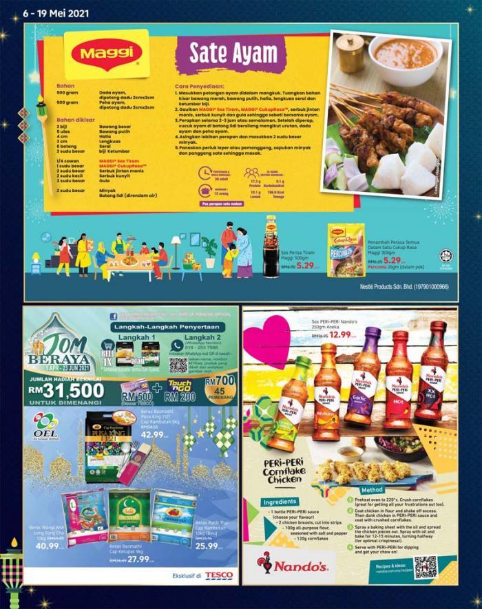 Tesco-Hari-Raya-Promotion-Catalogue-11-350x443 - Johor Kedah Kelantan Kuala Lumpur Melaka Negeri Sembilan Pahang Penang Perak Perlis Promotions & Freebies Putrajaya Sabah Sarawak Selangor Supermarket & Hypermarket Terengganu
