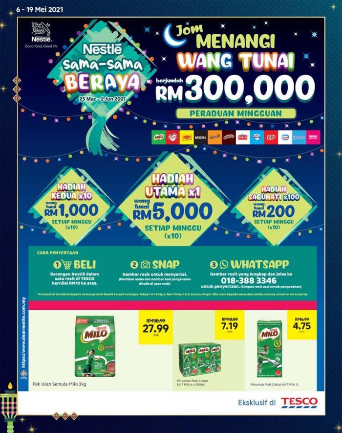 Tesco-Hari-Raya-Promotion-Catalogue-9-350x443 - Johor Kedah Kelantan Kuala Lumpur Melaka Negeri Sembilan Pahang Penang Perak Perlis Promotions & Freebies Putrajaya Sabah Sarawak Selangor Supermarket & Hypermarket Terengganu