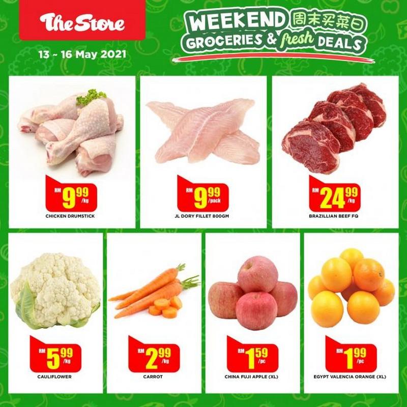 The-Store-Weekend-Groceries-Fresh-Deals-Promotion-2-350x350 - Johor Kedah Kelantan Kuala Lumpur Melaka Negeri Sembilan Pahang Penang Perak Perlis Promotions & Freebies Putrajaya Sabah Sarawak Selangor Supermarket & Hypermarket Terengganu