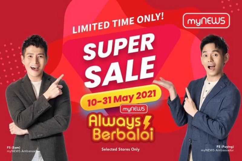 myNEWS-Super-Sale-350x233 - Johor Kedah Kelantan Kuala Lumpur Malaysia Sales Melaka Negeri Sembilan Pahang Penang Perak Perlis Putrajaya Sabah Sarawak Selangor Supermarket & Hypermarket Terengganu