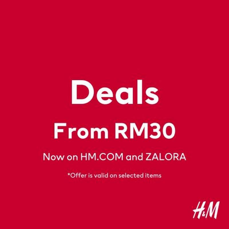 HM-Online-Deals-350x350 - Fashion Lifestyle & Department Store Johor Kedah Kelantan Kuala Lumpur Melaka Negeri Sembilan Online Store Pahang Penang Perak Perlis Putrajaya Sabah Sales Happening Now In Malaysia Sarawak Selangor Sponsored Terengganu Warehouse Sale & Clearance in Malaysia